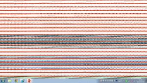 Office2013で画面が乱れる