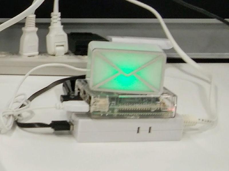 Webmail Window + Raspberry Pi